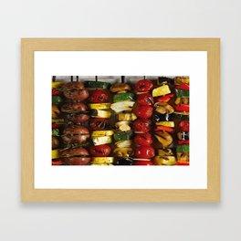 Kebab Framed Art Print