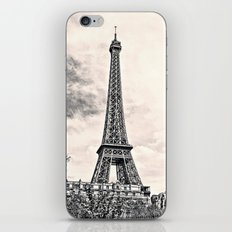 Another Eiffel Tower Photo iPhone & iPod Skin