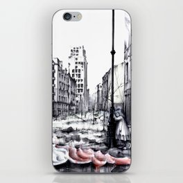 THE DEATH OF WARSAW iPhone Skin