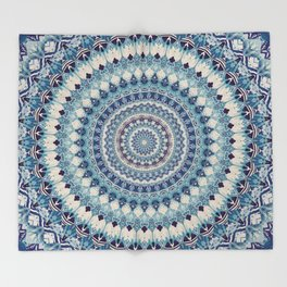 Mandala 587 Throw Blanket