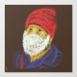 Santas Casual Outfit Canvas Print