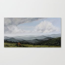 View from Round Bald Canvas Print