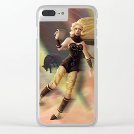 Kat Gravity Rush Clear iPhone Case
