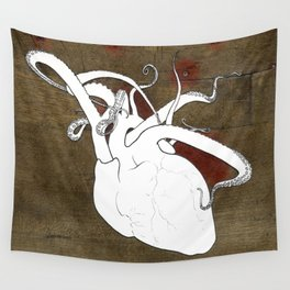 The Reaching Heart Wall Tapestry