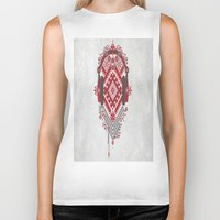 ethnic Biker Tanks featuring Ethnic by sophtunes