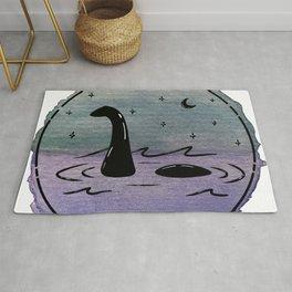Watercolor Nessie Rug