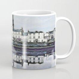 Ayr Town Centre Fractal  Coffee Mug