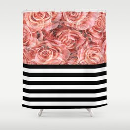 Bouquet of Red Shower Curtain