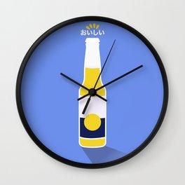 In My Fridge - Beer Wall Clock