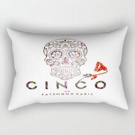 Cinco by Tatemono Paris Colored one Rectangular Pillow