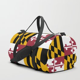 Maryland State Flag, Hi Def image Duffle Bag