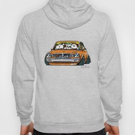 Crazy Car Art 0146 Hoody