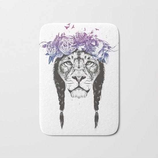 King of lions Bath Mat