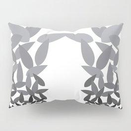 Spirit Lotus charcoal Pillow Sham