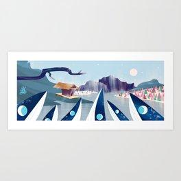 Polar Fish Art Print