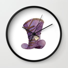 Madder Hat Wall Clock