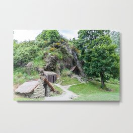 Arrowtown Chinese Settlement, New Zealand Metal Print
