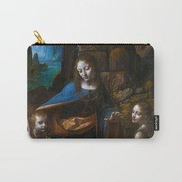 "Leonardo da Vinci ""The Virgin of the Rocks"" (London) Carry-All Pouch"