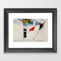 Fierté Acadienne Framed Art Print