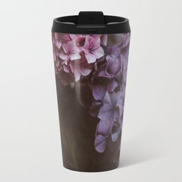 Hydrangea Floral Design Travel Mug
