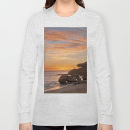 sunset afterglow, Portugal Long Sleeve T-shirt