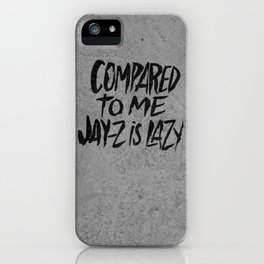 THE BADDEST iPhone Case