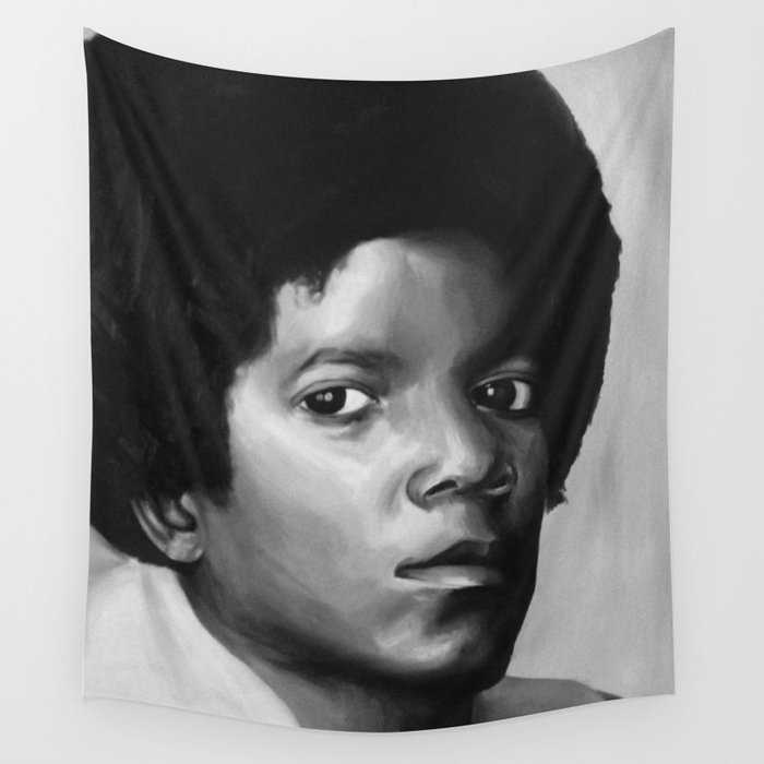 Young Mike Wall Tapestry