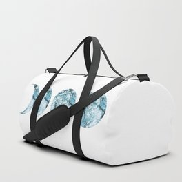 Blue Marble Moon Phases Duffle Bag