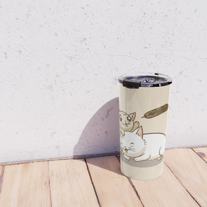 CatTails! Travel Mug
