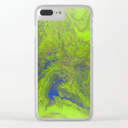 Nature 3 Clear iPhone Case