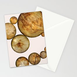 Wood Wood 2 Stationery Cards