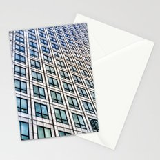 Canary Wharf Tower  London Abstract Stationery Cards