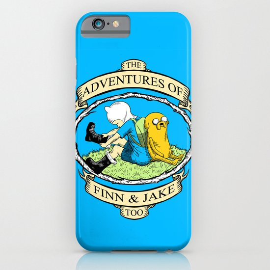 The Adventures of Finn & Jake, Too iPhone & iPod Case