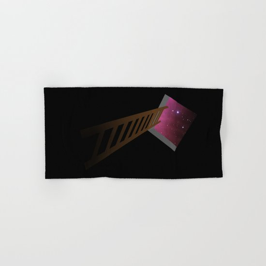 Escape to heaven - pink Hand & Bath Towel