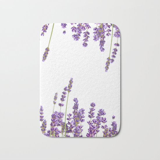 Purple Lavender #2 #decor #art #society6 Bath Mat