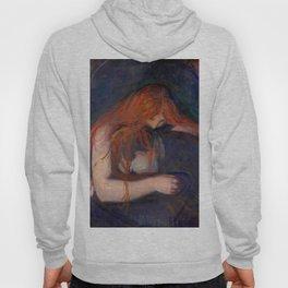 "Edvard Munch ""Vampire"", 1895 Hoody"