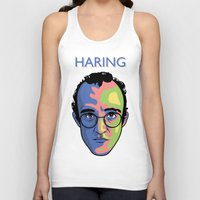keith haring Tank Tops featuring Haring by guissëpi