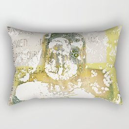 Anxiety Rectangular Pillow
