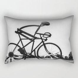 The Cyclist Rectangular Pillow