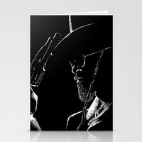 django Stationery Cards featuring Django by JessicaBader