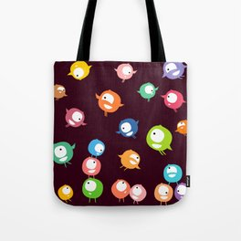 Tiny hyperactive creatures Tote Bag