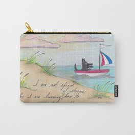 Sailing Scottie Carry-All Pouch