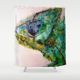 Chameleon Shower Curtain