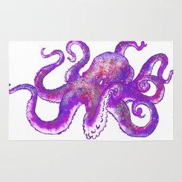 Octopus self portrate Rug