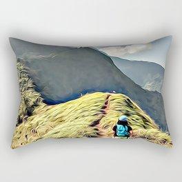 Starring the future Rectangular Pillow