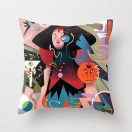 Shaken, Not Stirred... Throw Pillow
