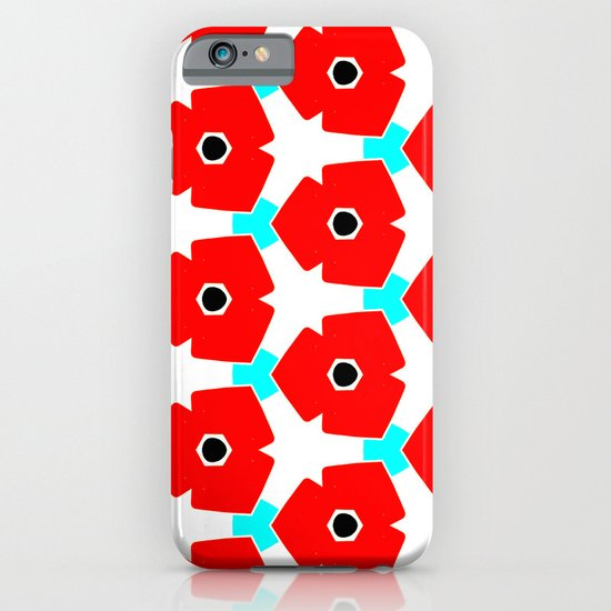 Herweije Retro Flower Pattern iPhone & iPod Case