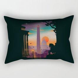 Washington DC Rectangular Pillow