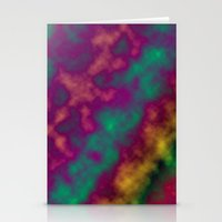 tie dye Stationery Cards featuring Tie Dye by Kings in Plaid