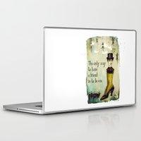 best friend Laptop & iPad Skins featuring Man's Best Friend by Sybille Sterk